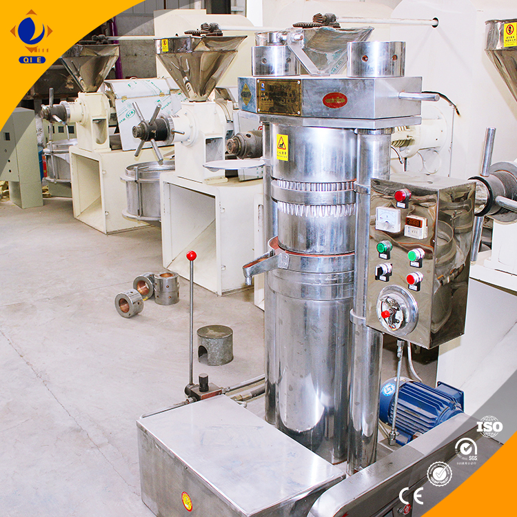 castor seed oil making machines. screw oil press.