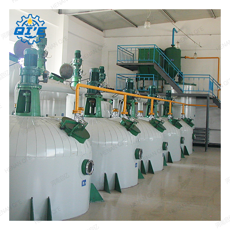 small scale edible oil refinery plant, sunflower oil refining machine
