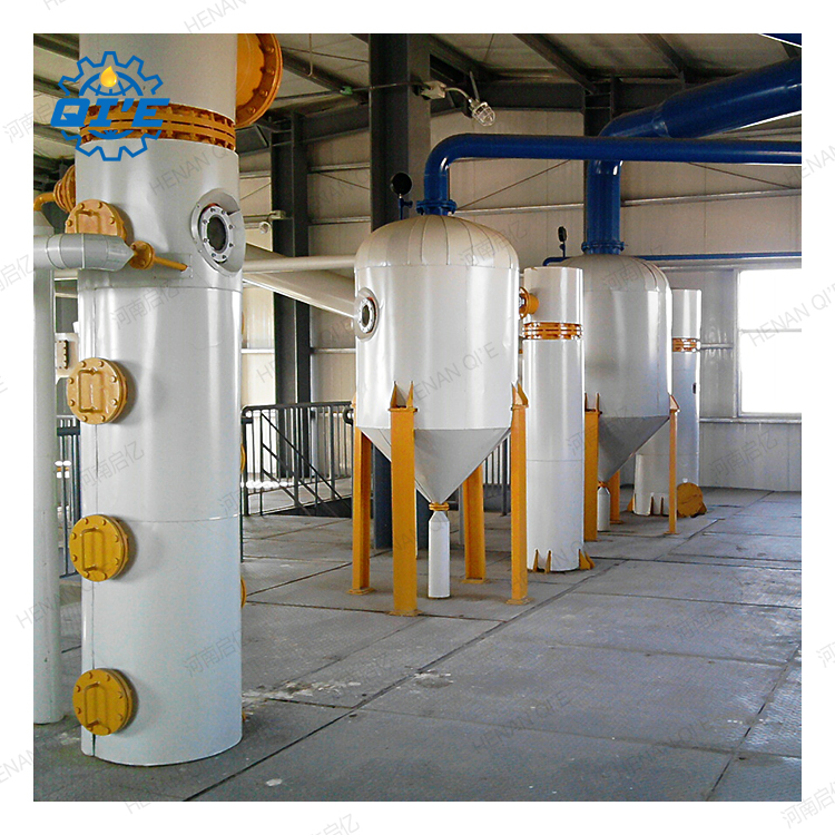 successfully installed soybean oil processing plant in nigeria