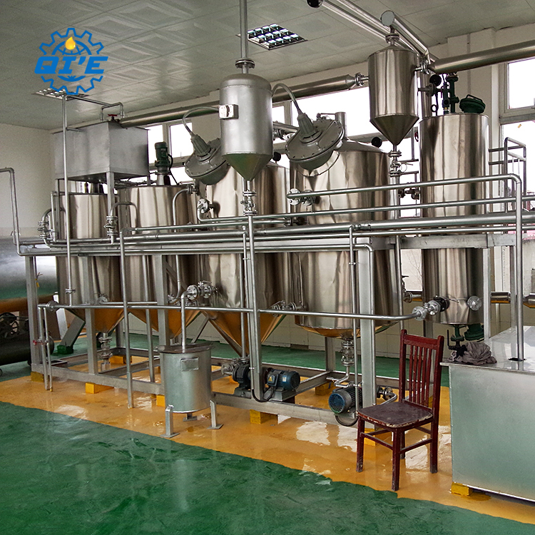 corn germ pretreatment and oil pressing machinery equipment