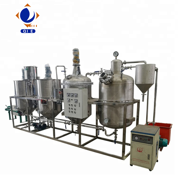 small scale edible oil refinery plant , cooking oil refining machine